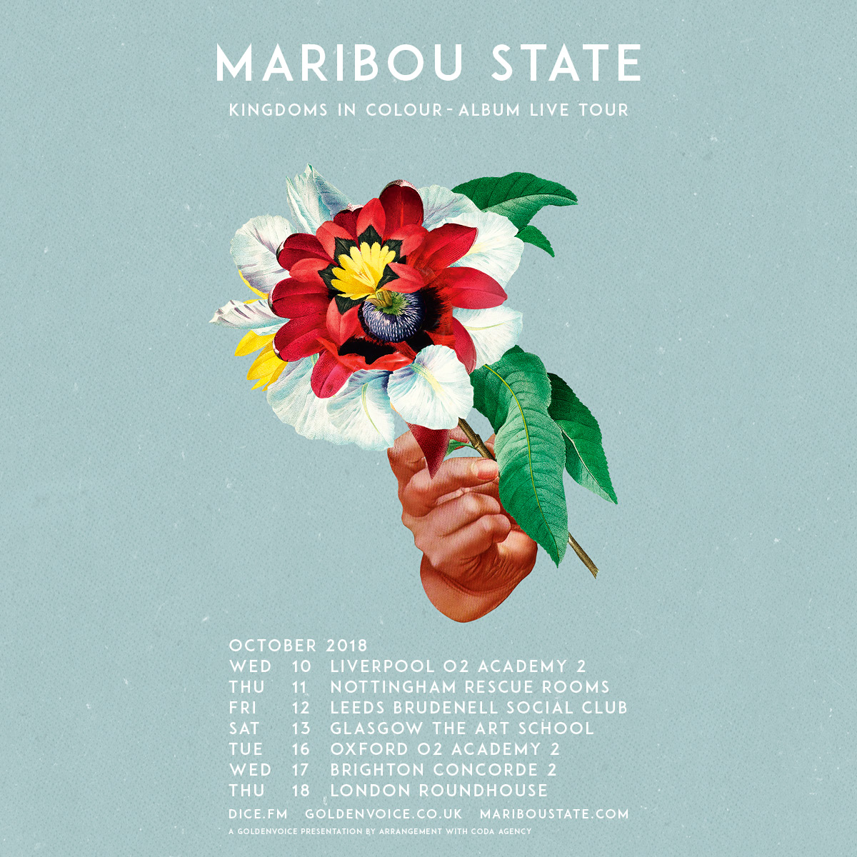 Maribou State Sold Out Plus Guest Support Tba - Gig at Leeds