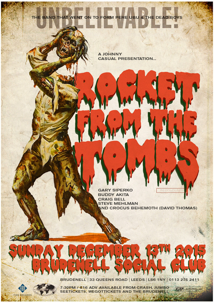 Image result for rocket from the tombs poster