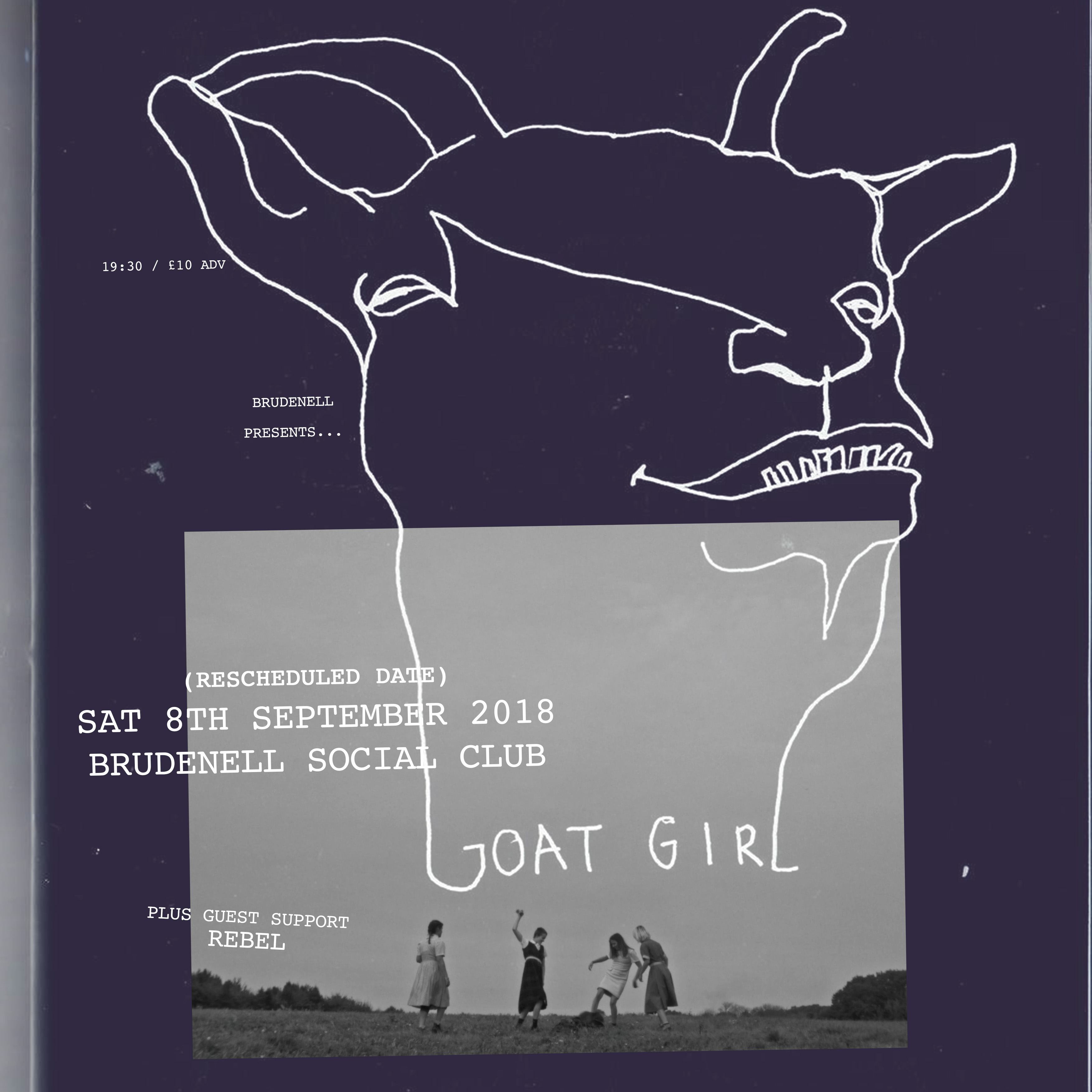 Goat Girl Note Rescheduled Date All Previous Tickets Remain