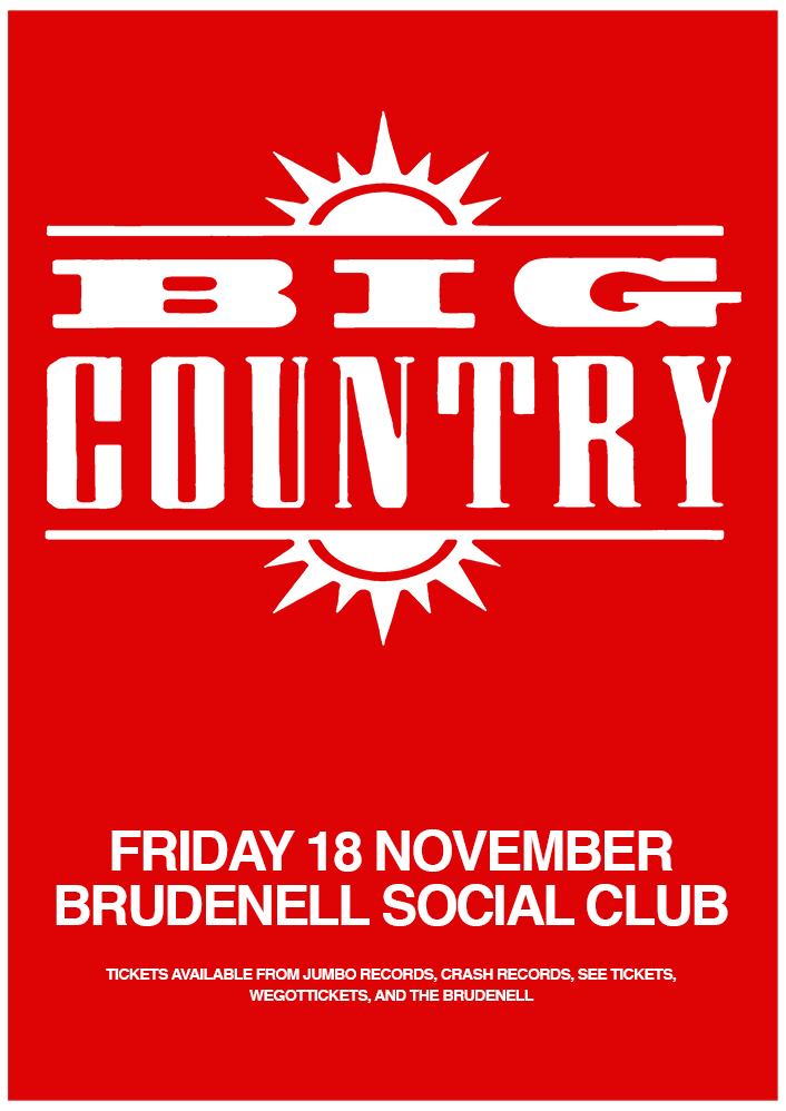 Big Country - Gig at Leeds Brudenell Social Club