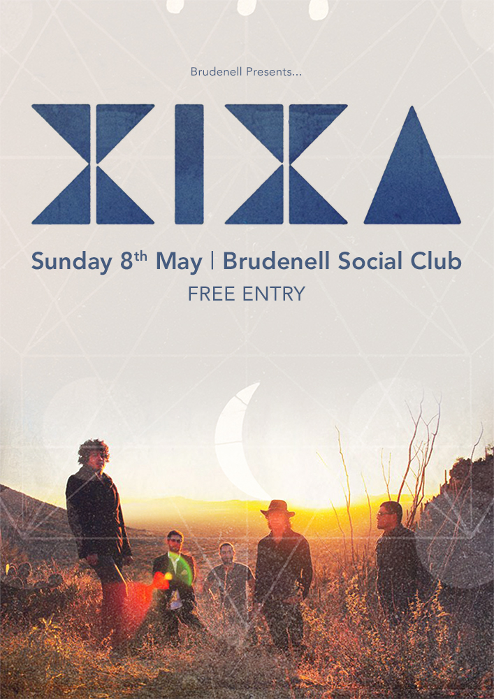 XIXA FREE ENTRY - Gig at Leeds Brudenell Social Club