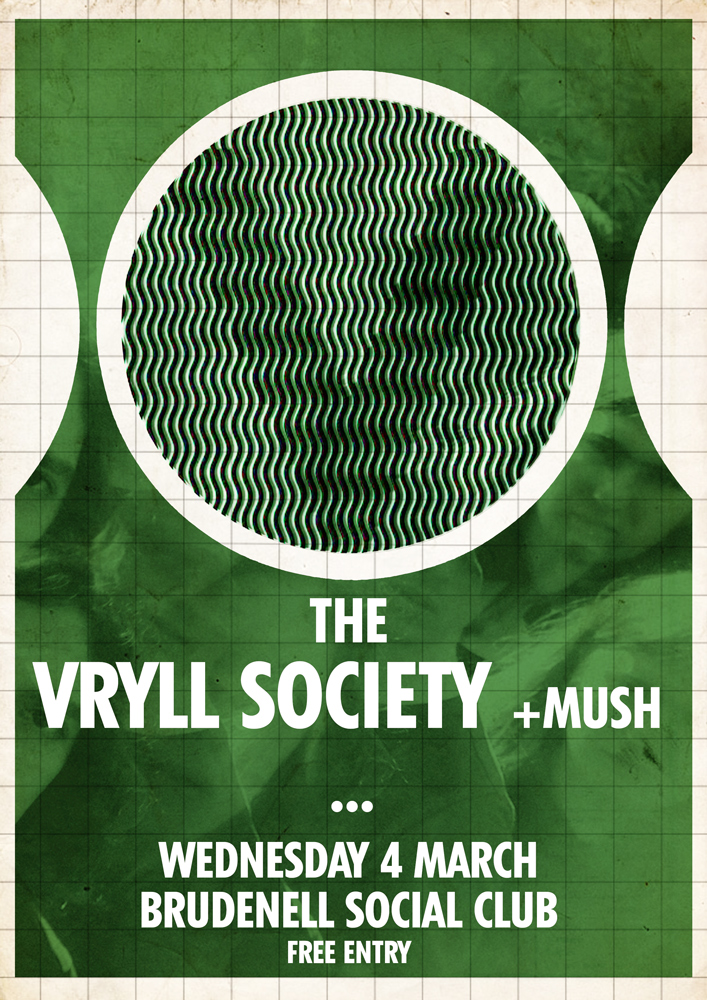 The Vryll Society MUSH - Gig at Leeds Brudenell Social Club