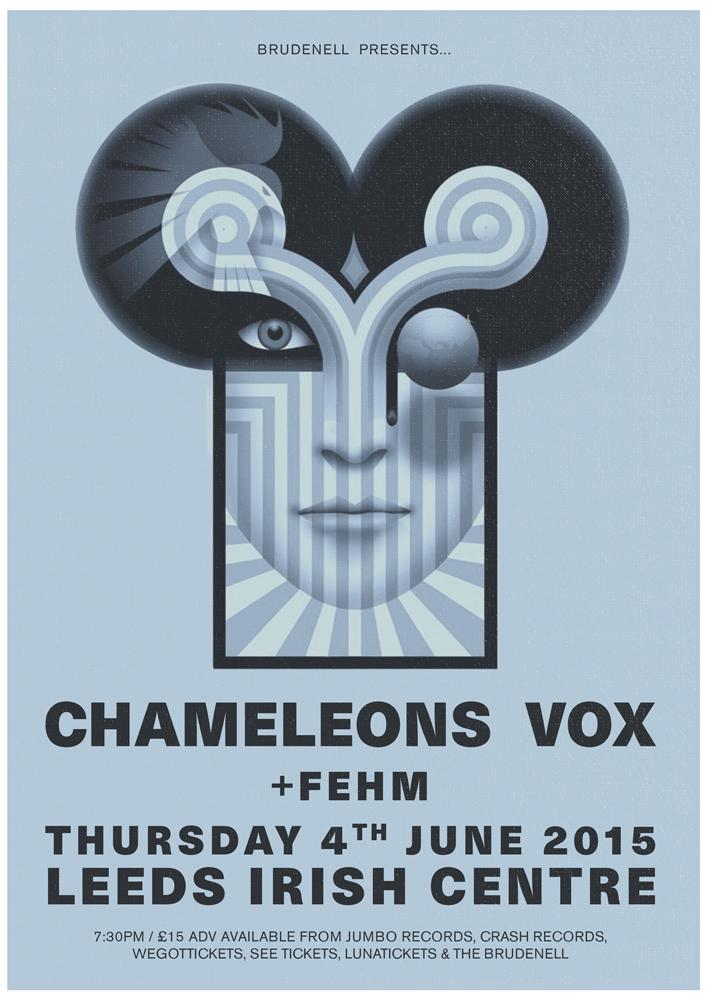 chameleons vox at leeds irish centre fehm gig at leeds