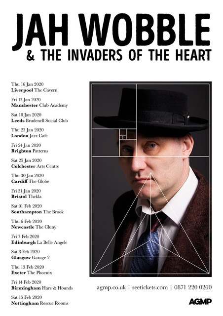 Jah Wobble - Gig at Leeds Brudenell Social Club